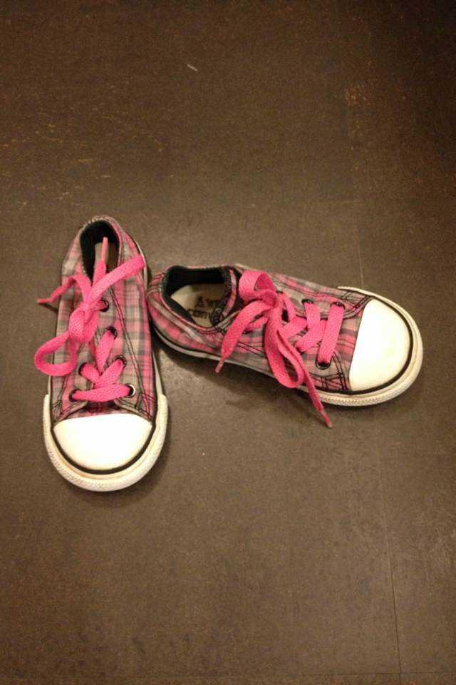 Converse, All Star Ternede pink AllStars