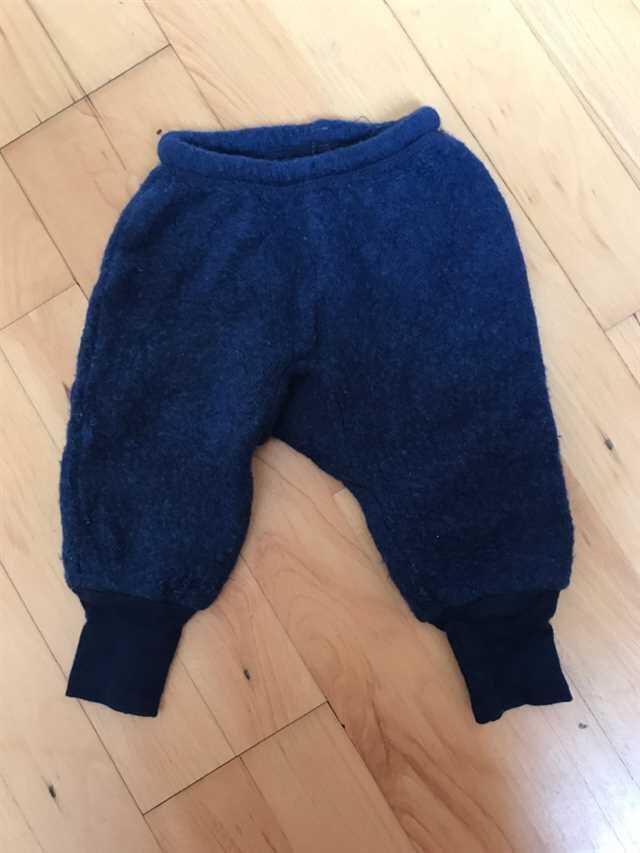 808 Uldfleece bukser