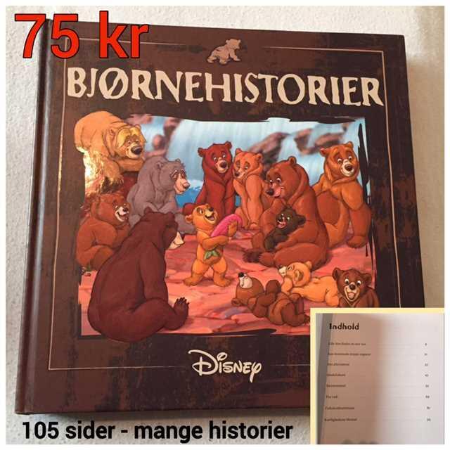 Bjørnehistorier (Disney) Bog
