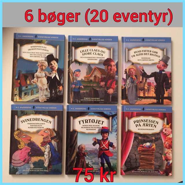 klassiske H.C Andersen eventyr Bøger