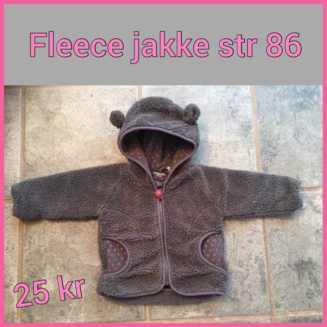 Friends fleece jakke str 86 .