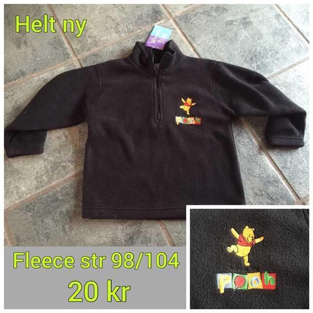 Peter Plys fleece trøje 98/104