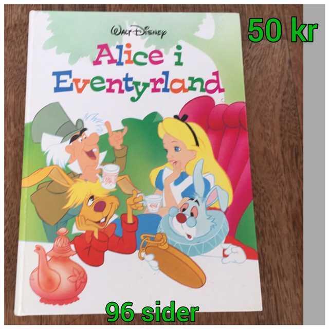 Alice i Eventyrland Bog