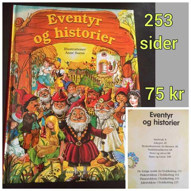 Eventyr og Historier Bog
