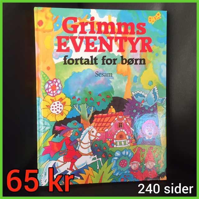Grimms eventyr fortalt for børn Bog