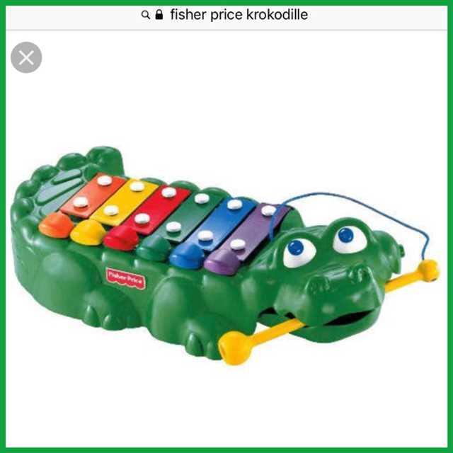 Fisher-Price klaver/xylofon .