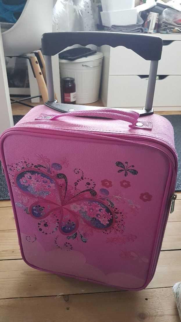 No Brand Rejse/skole taske med hjul