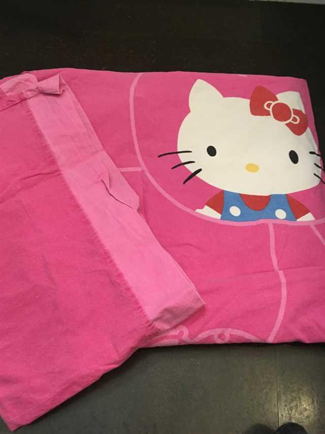 Hello Kitty Junior sengetøj