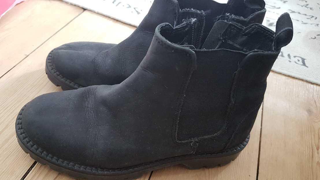 No brand Chelsea boots læder