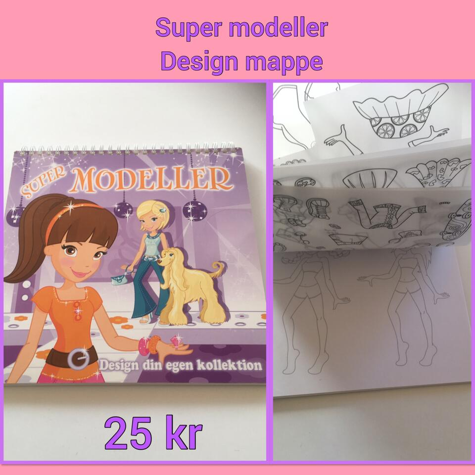 Super modeller designmappe .