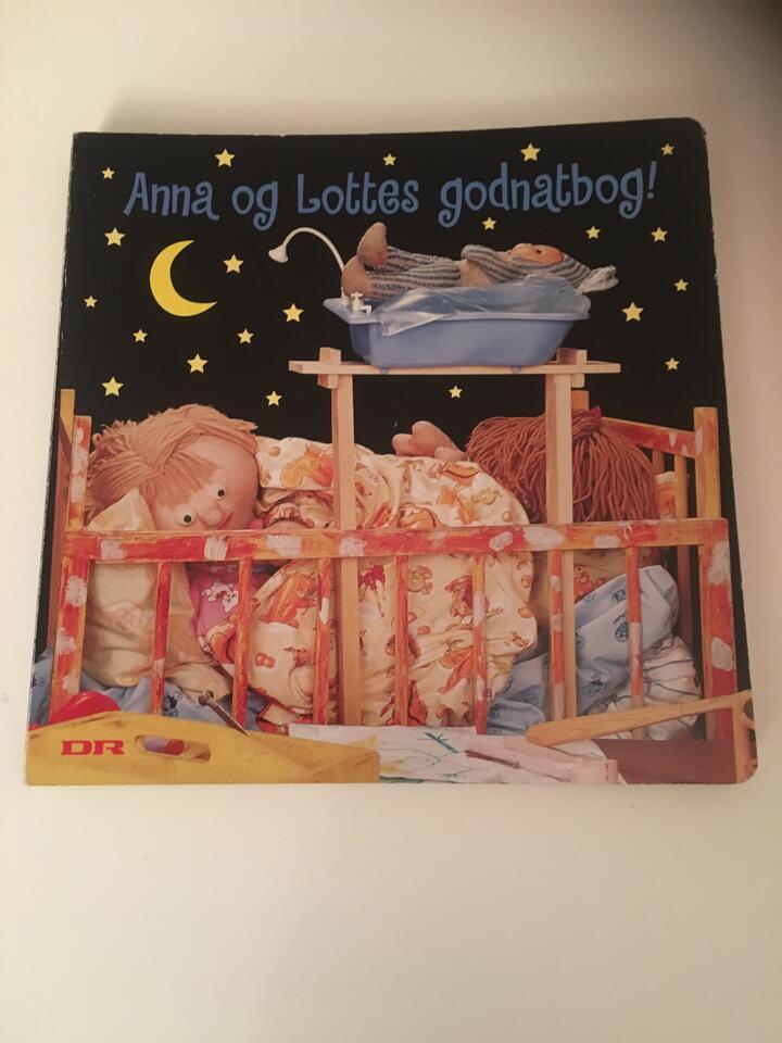 Anna og Lottes Godnatbog bog