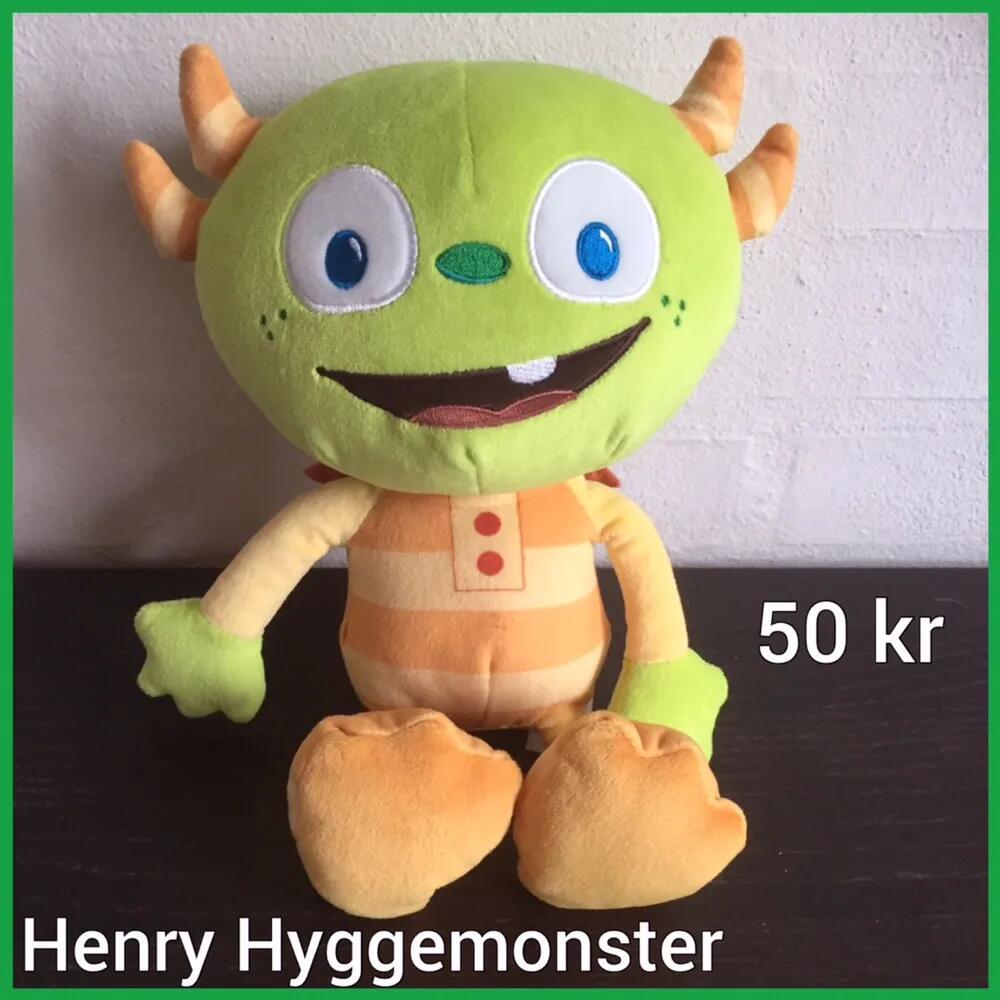 Henry Hyggemonster bamse .
