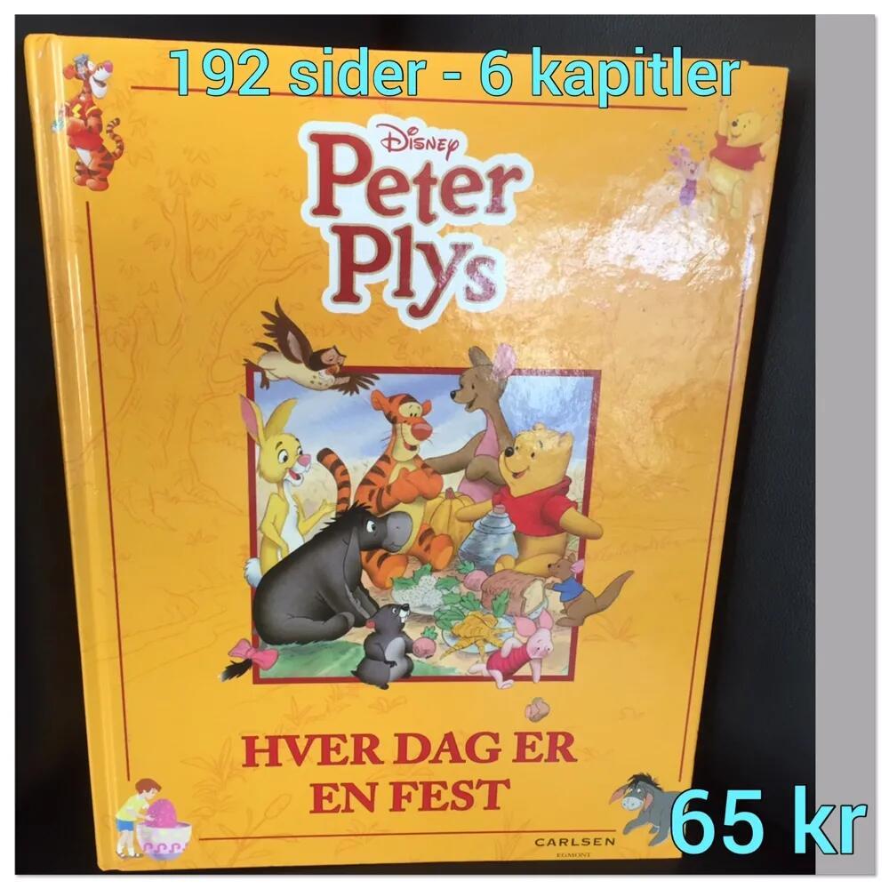 Stor Peter plys bog bog