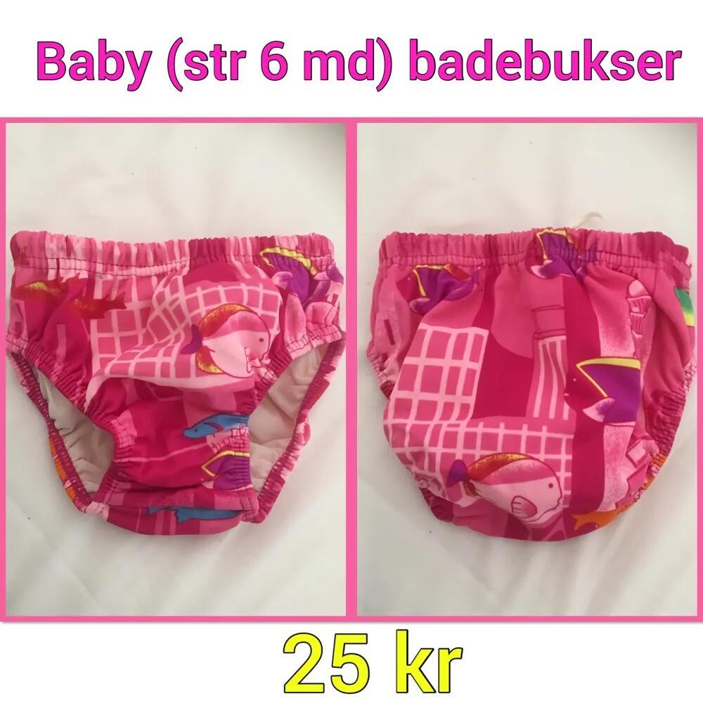 baby badebukser (6md) .