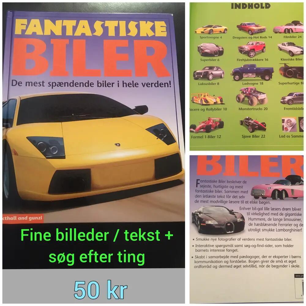 Fantastiske biler bog