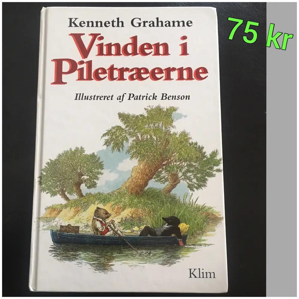 Vinden i Piletræerne bog
