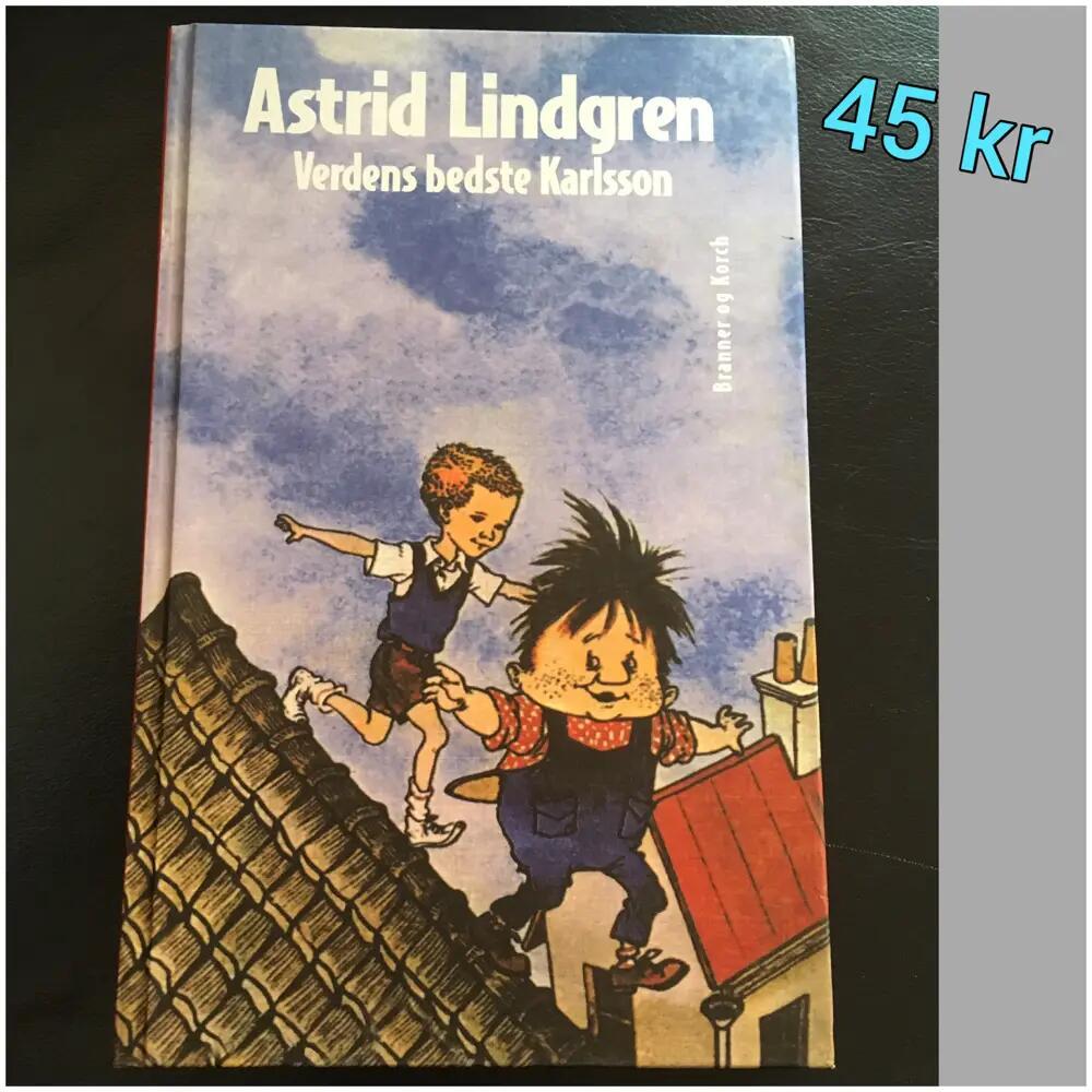 Verdens bedste Karlsson bog