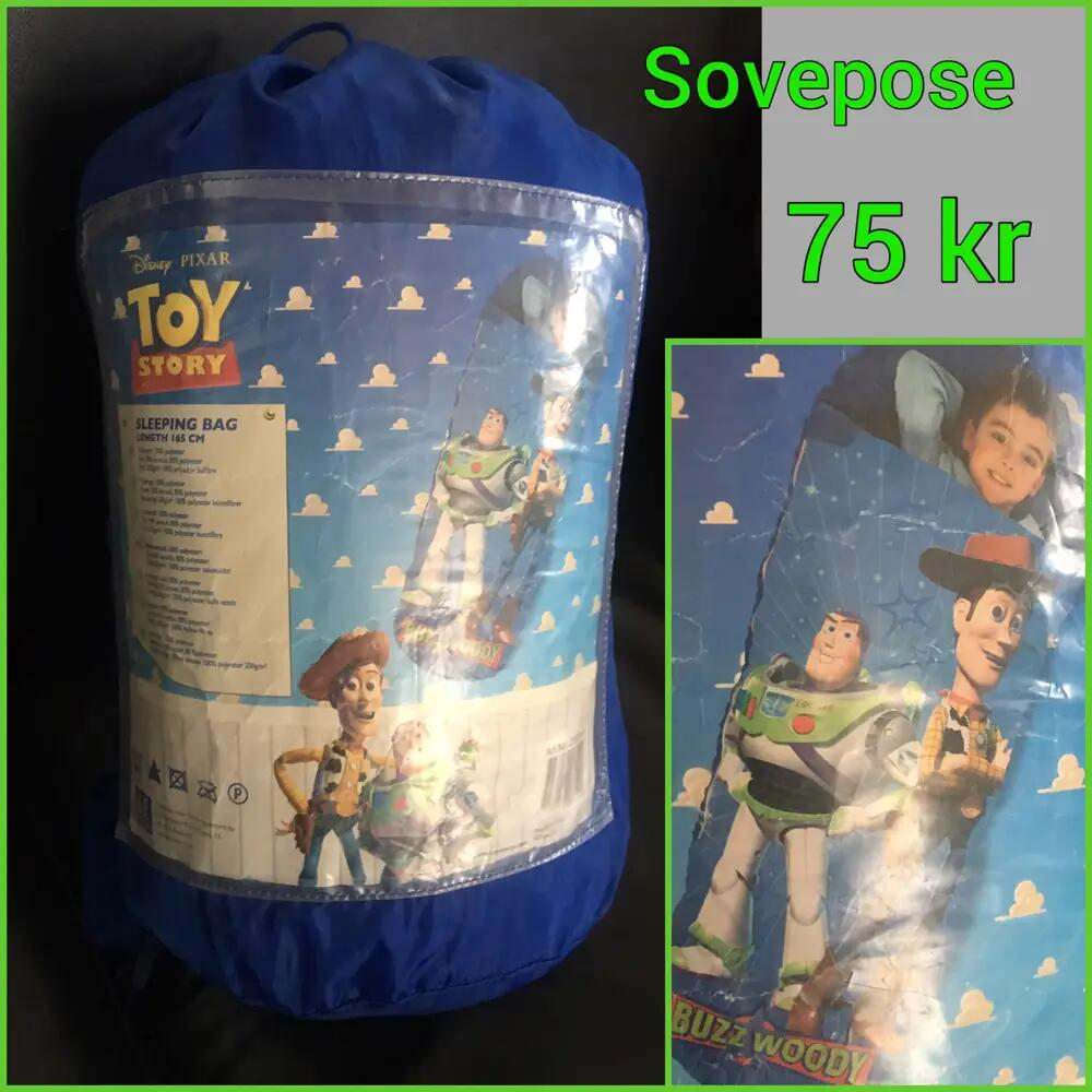 Toy Story sovepose .
