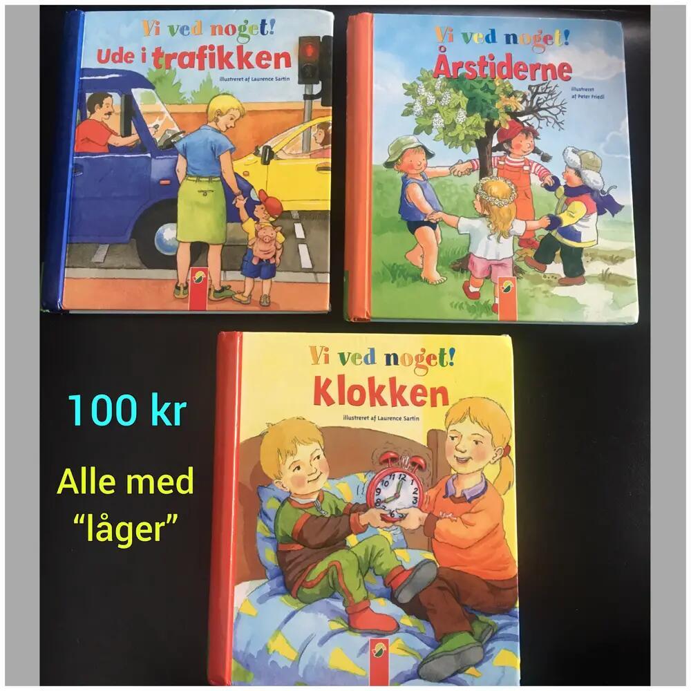 """3 """"låge"""" bøger bøger"""