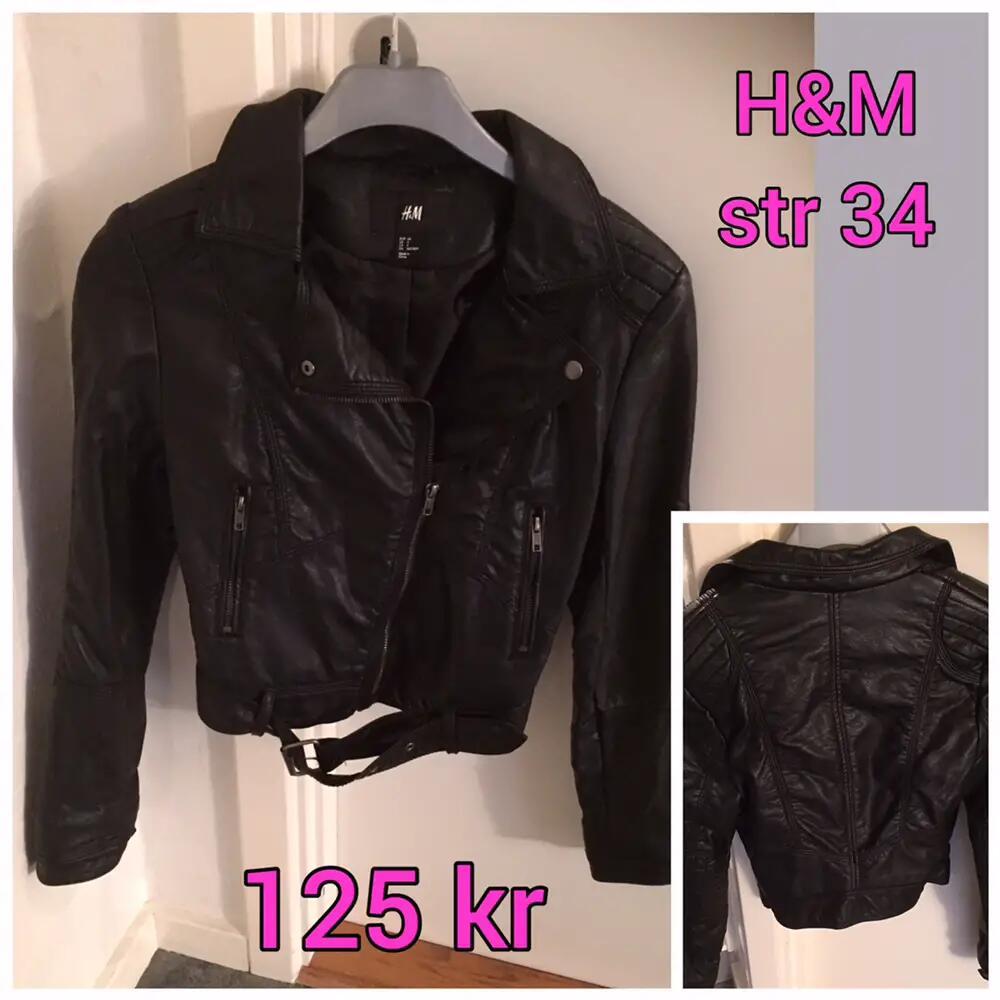 H&M læderjakke
