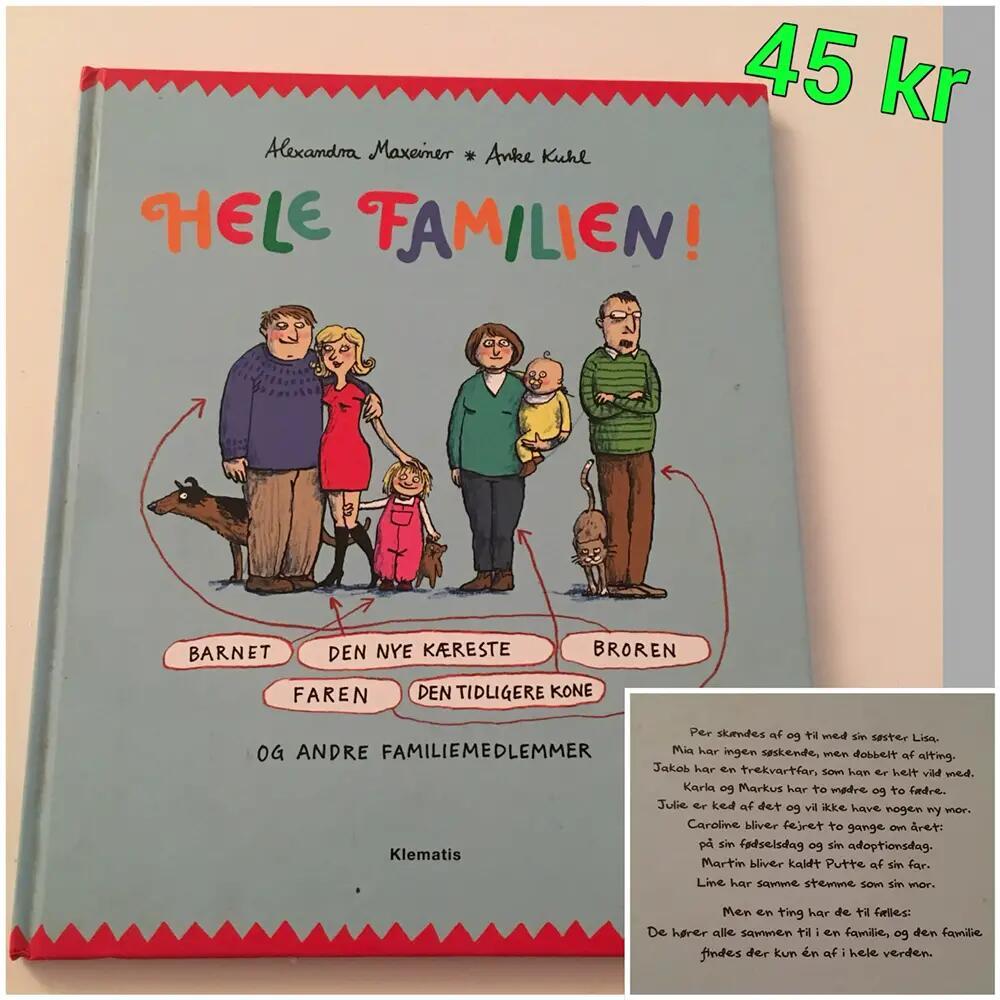 Hele Familien!, og andre famili.. bog