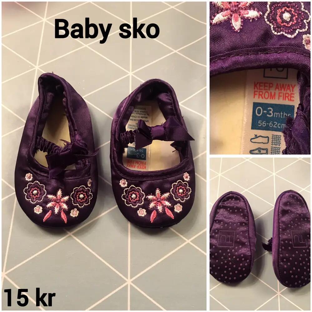 Baby sko .