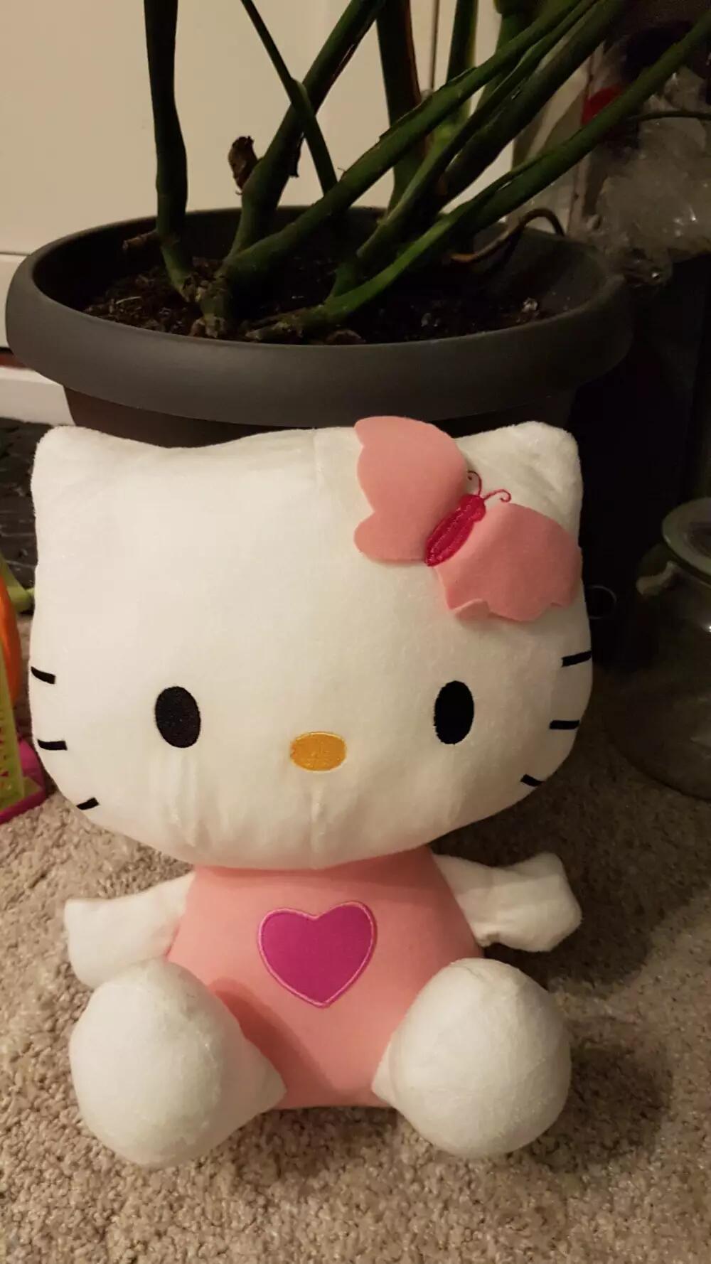 Hello Kitty Stor Plys Kitty