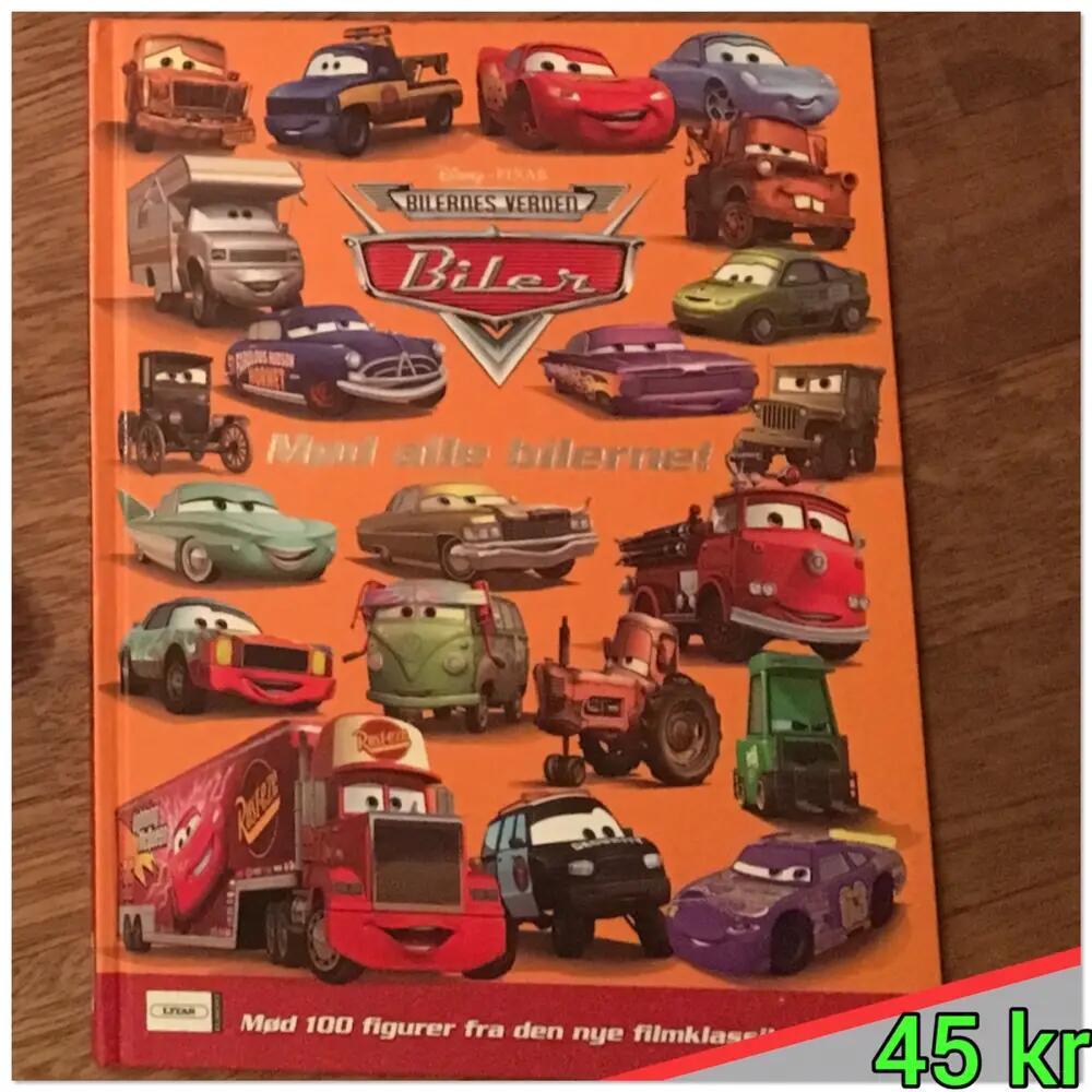 Biler: mød alle bilerne bog