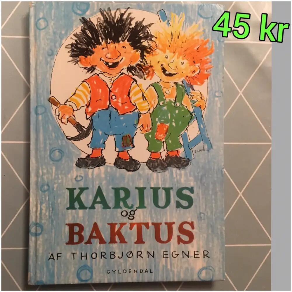 Karius og Baktus bog