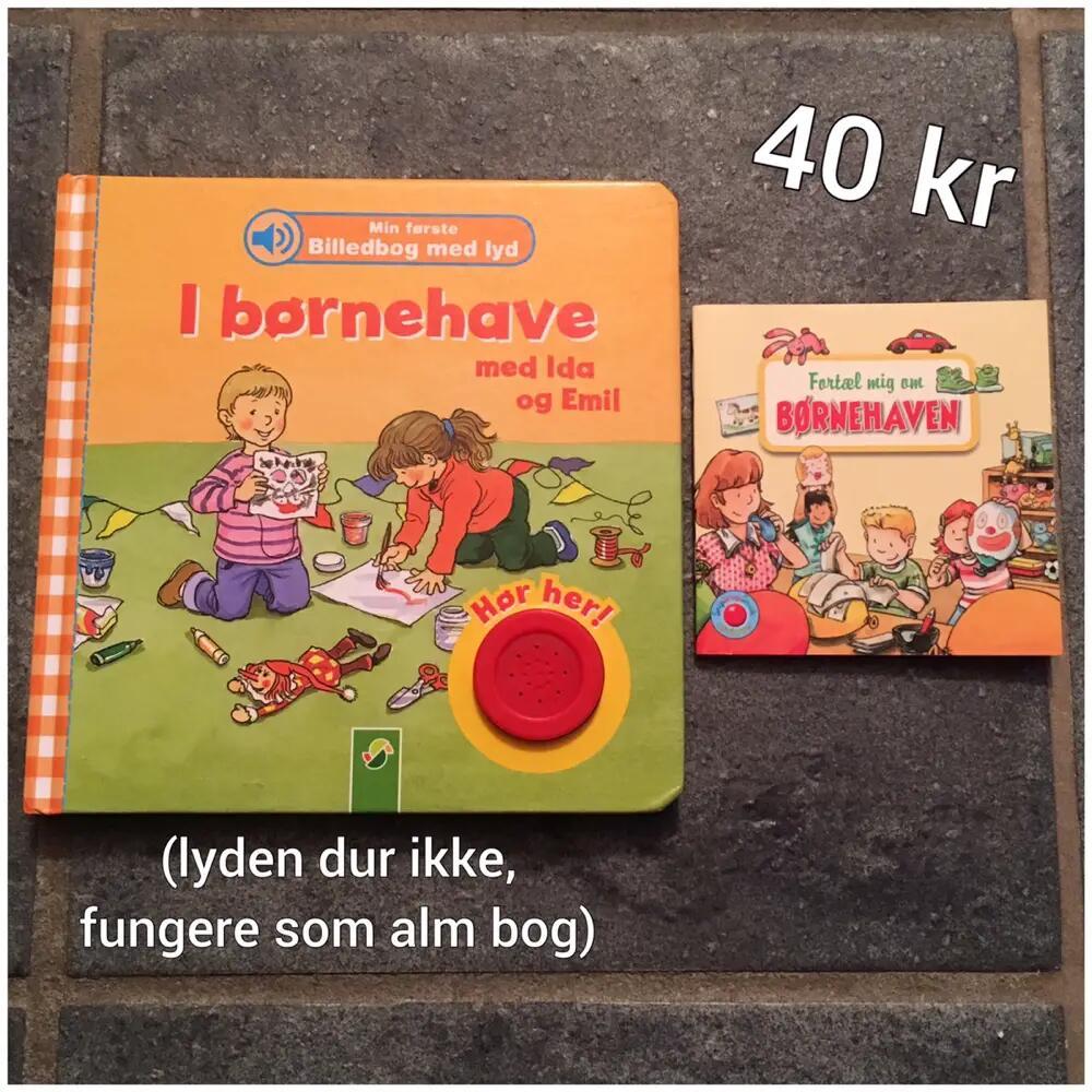2 I børnehave bøger bøger