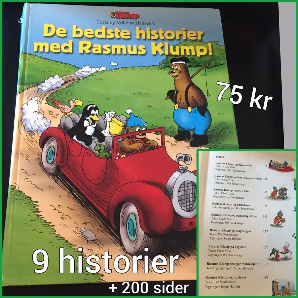 Rasmus Klump historier .