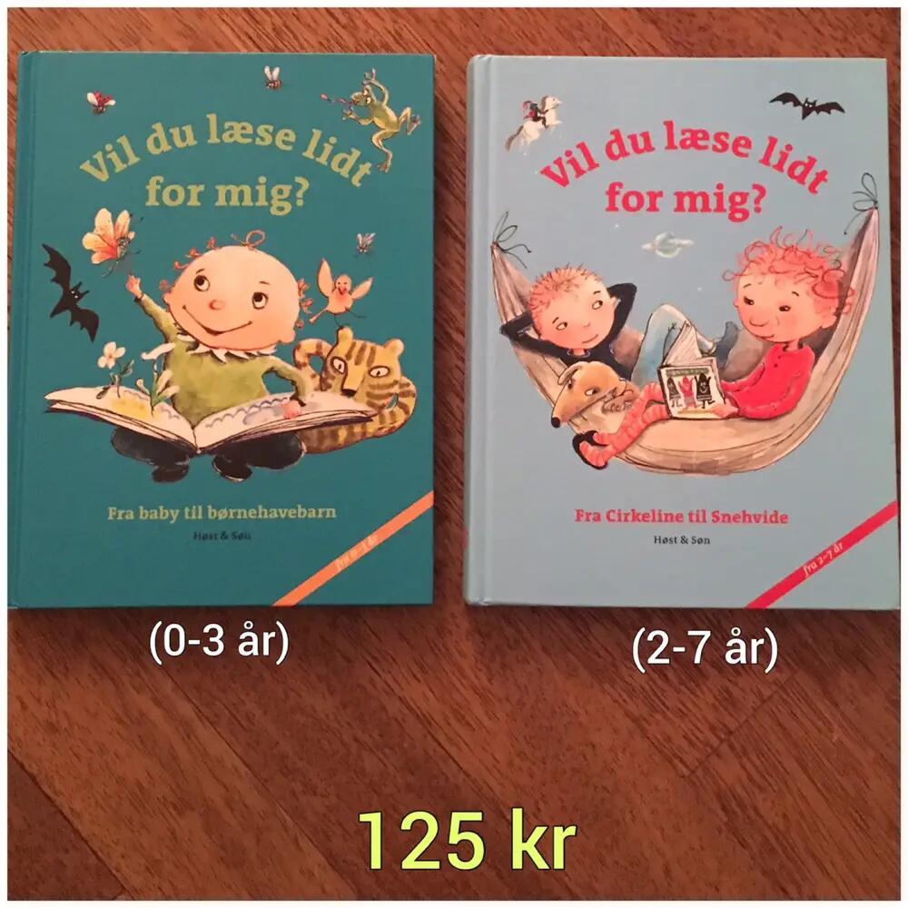2 Vil du læse lidt for mig? bøger