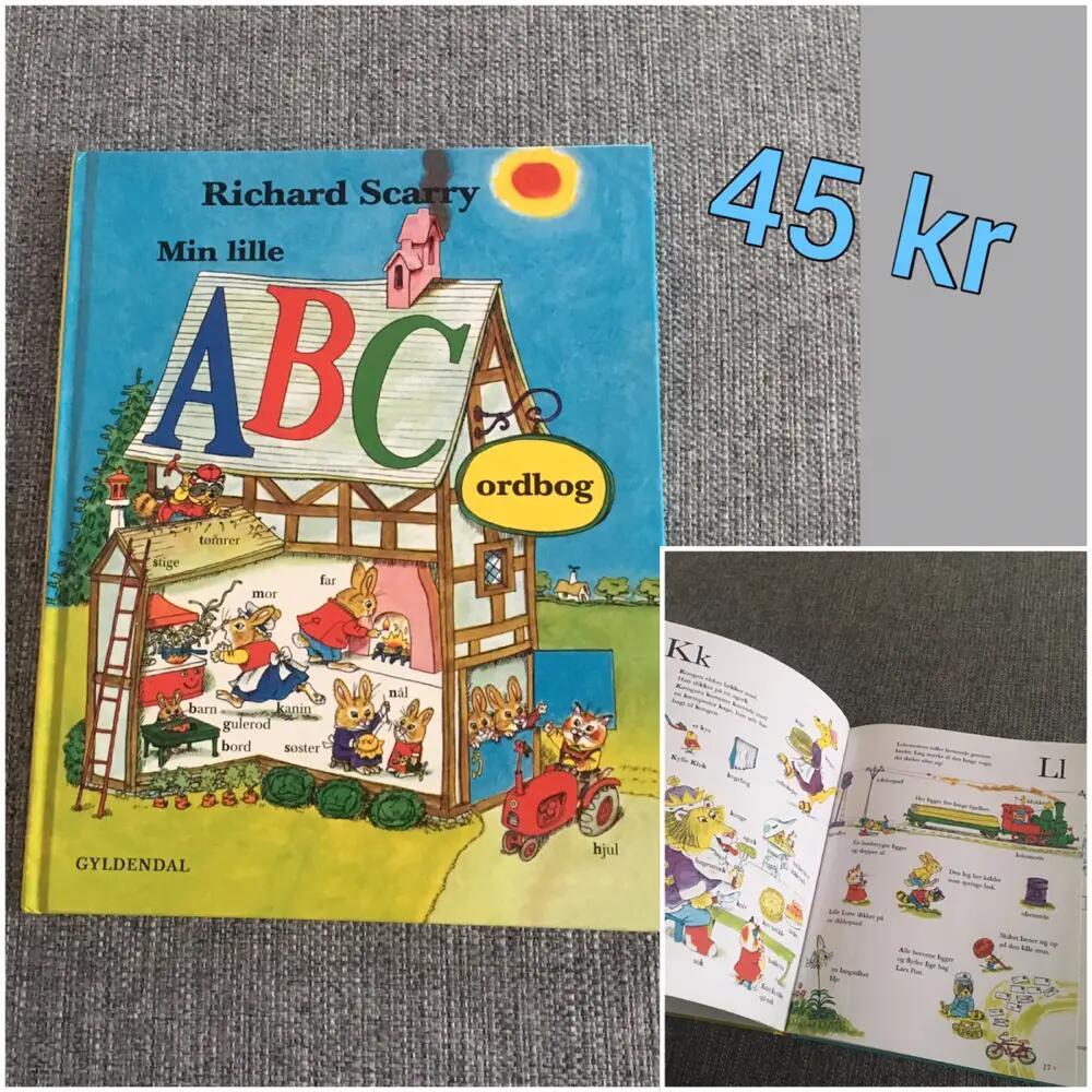 Min lille ABC ordbog Bog
