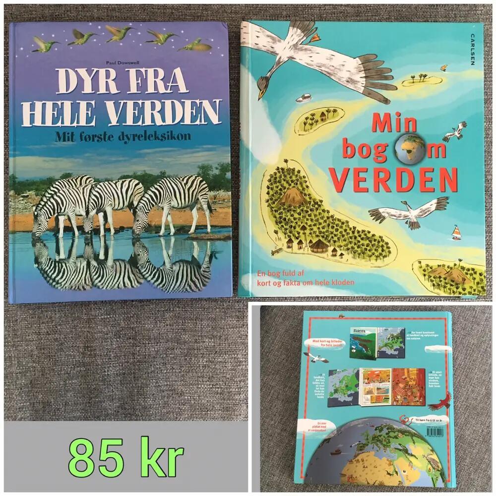 Dyre + verden bøger Bøger