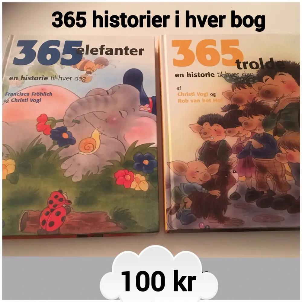2 x 365 historier (1 pr dag) Bøger