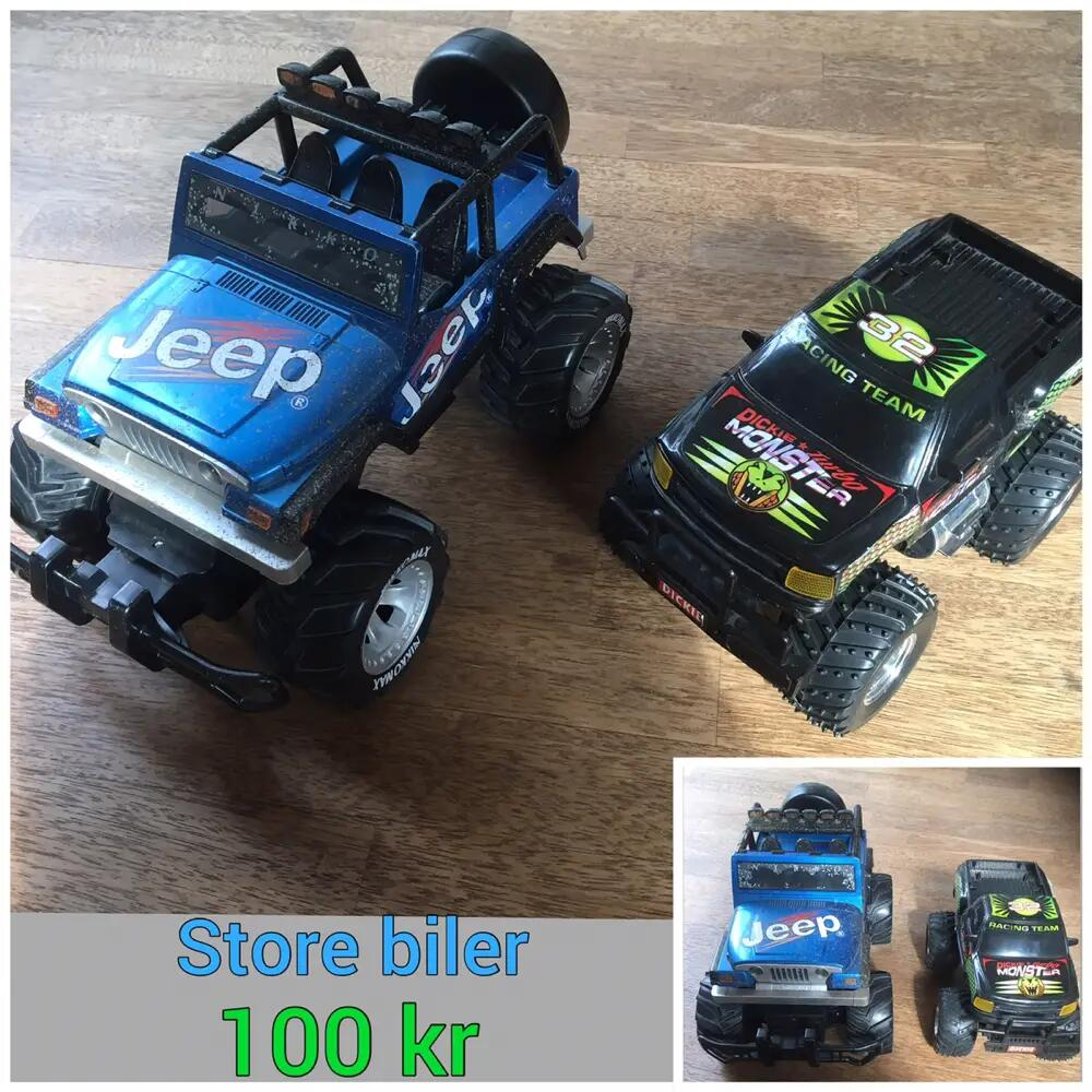 2 store Jeep biler .