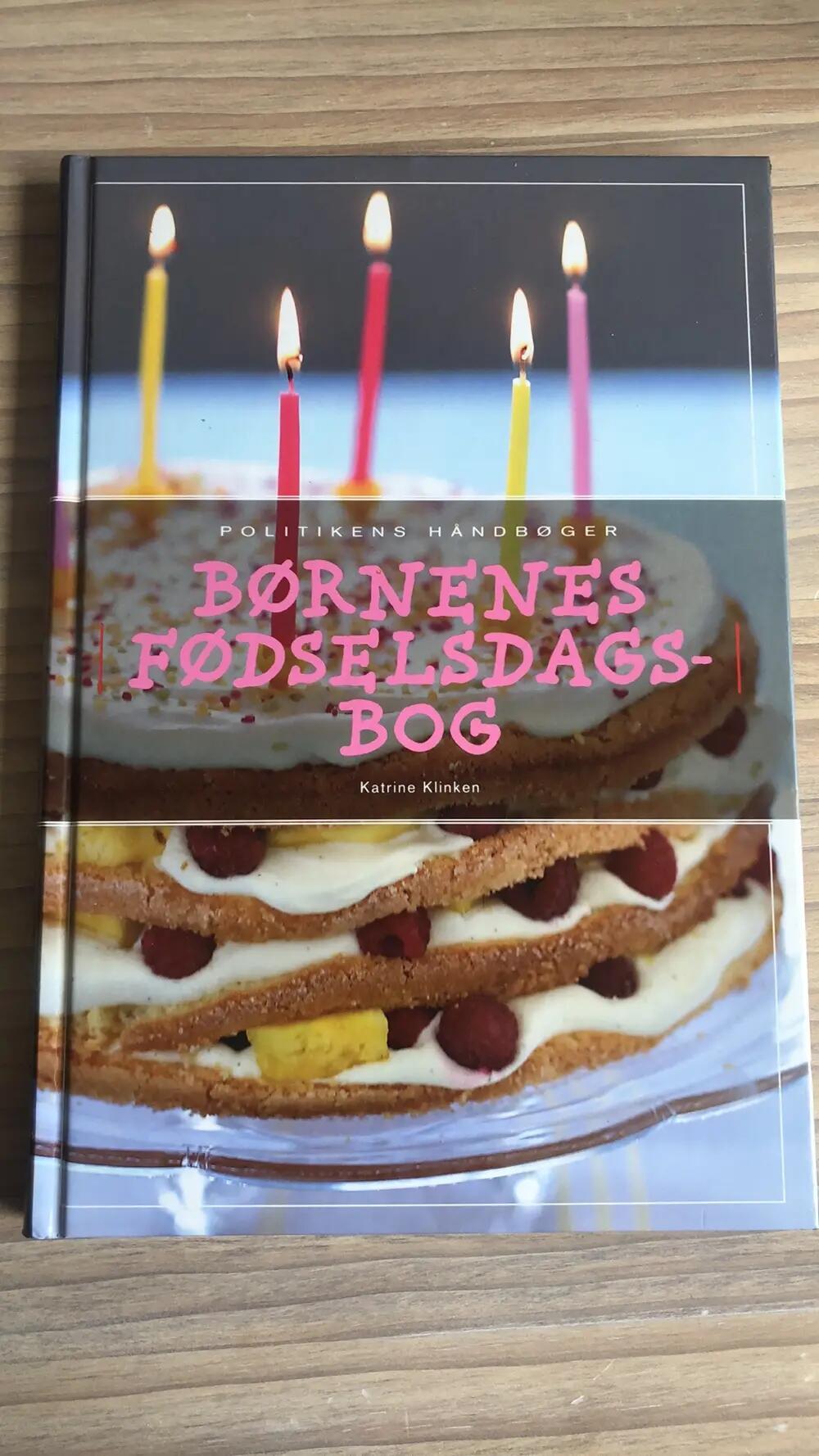 Børnenes fødselsdagsbog Politikens forlag