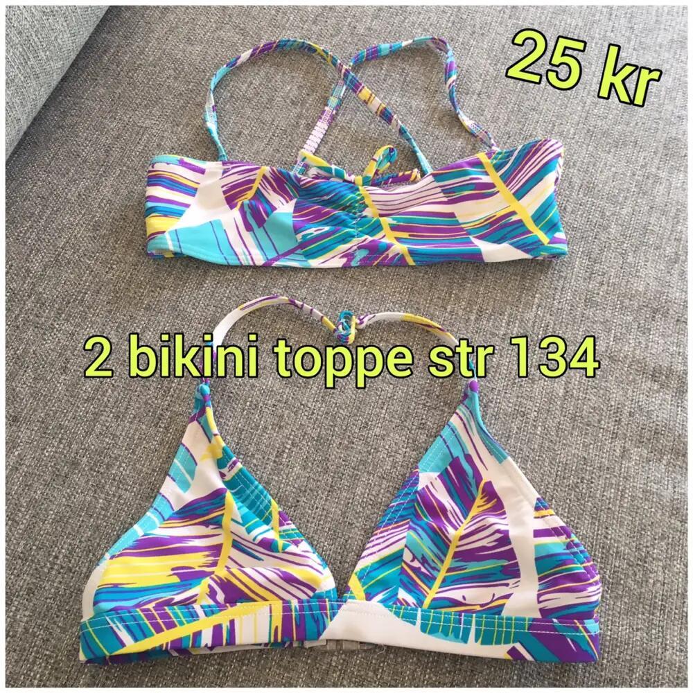 2 bikini toppe l