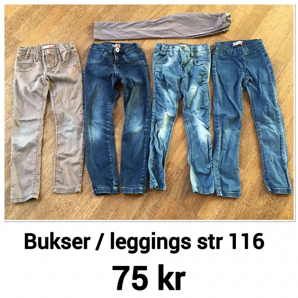 5 par bukser str 116 l