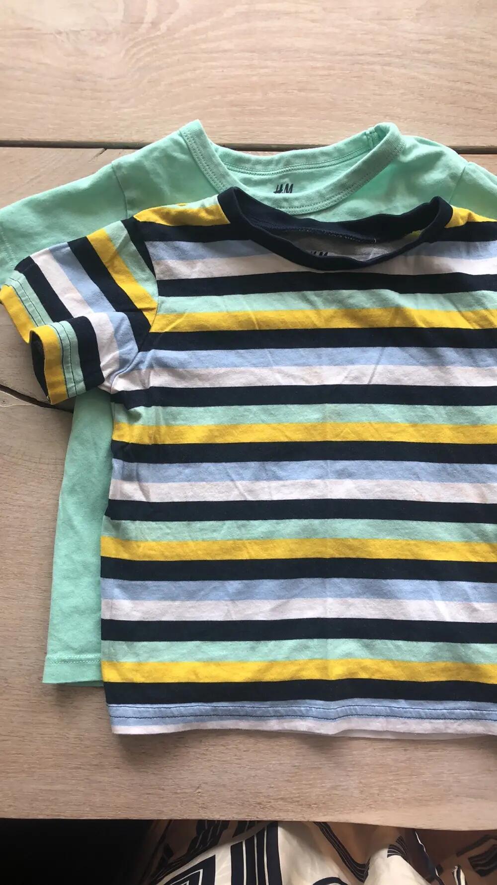 small rags T shirt korte ærmer