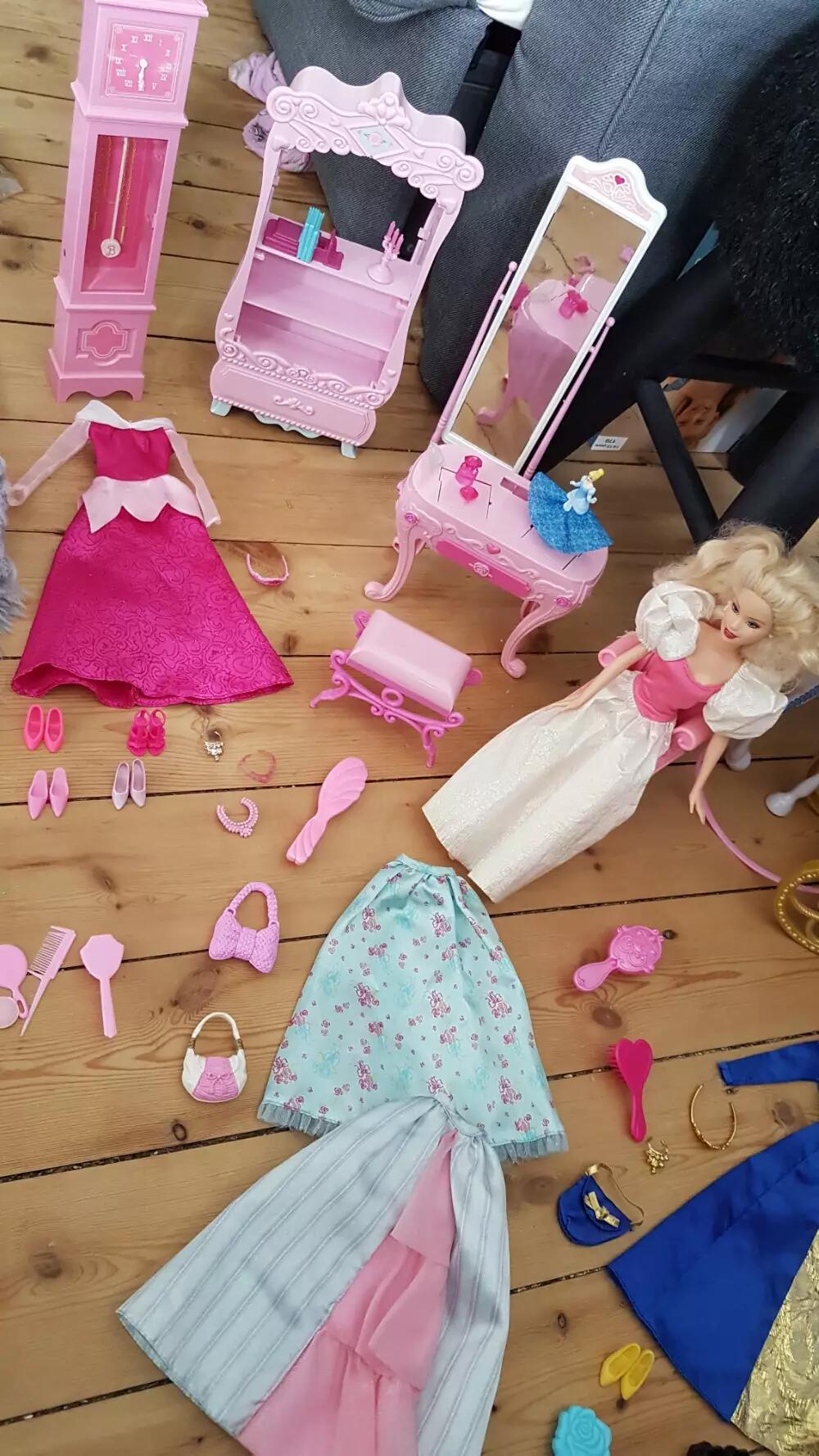 Barbie Princsesse værelse