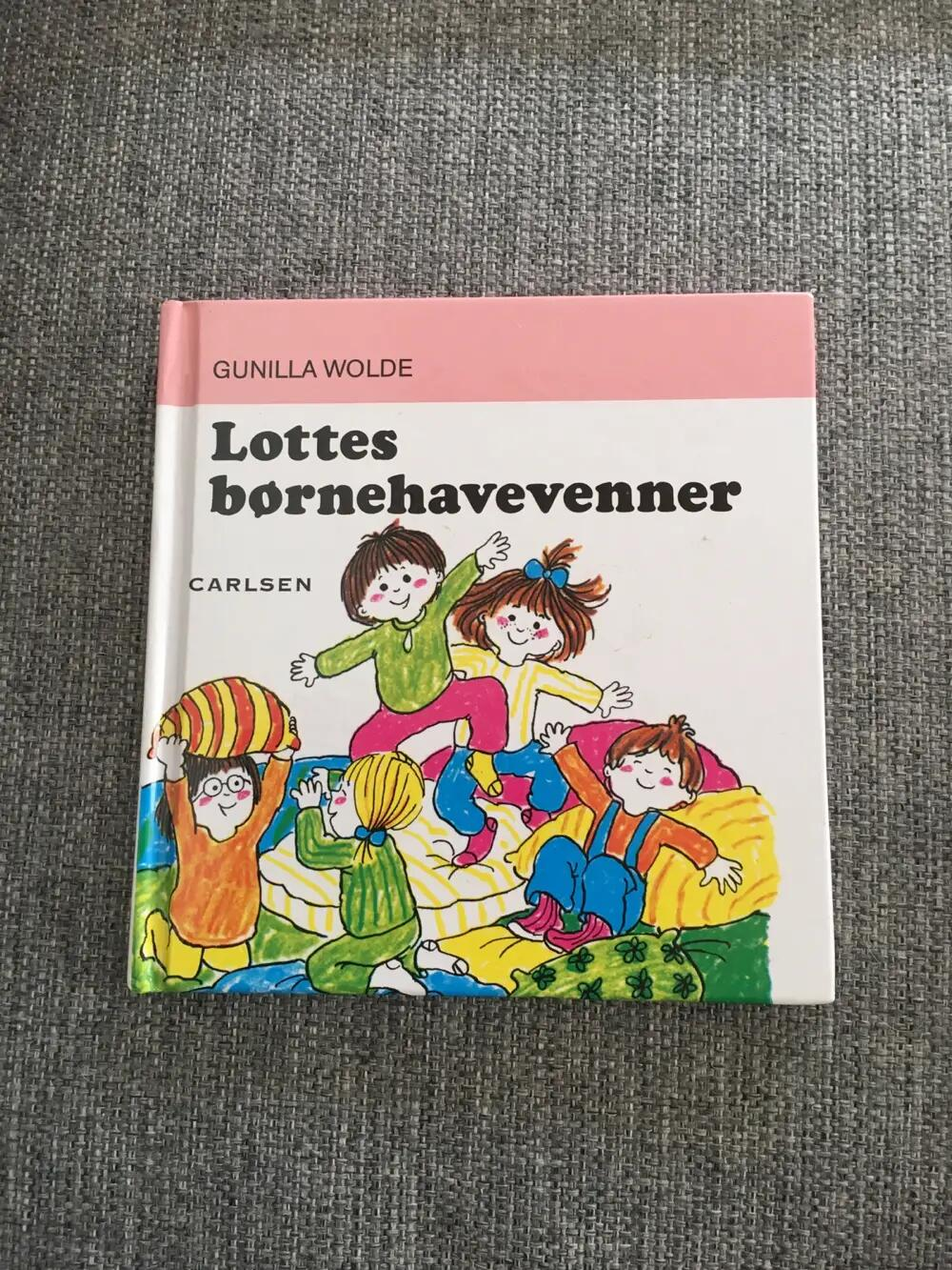 Lottes Børnehavevenner Bog